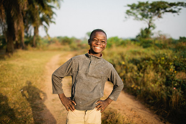 Liberian boy portrait photography