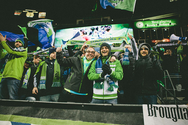 Seattle sounders fans