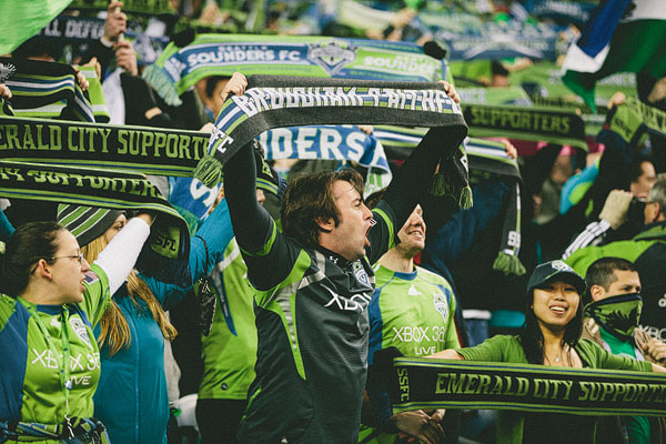 Seattle sounders fan