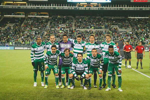 Santos Laguna team photo