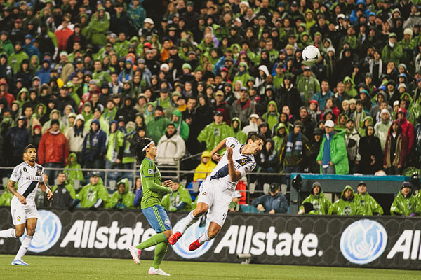 Seattle sounders playoff against LA Galaxy