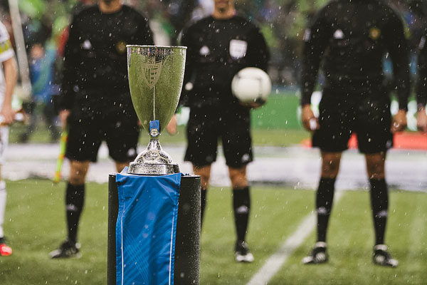 Conference Championship trophy MLS