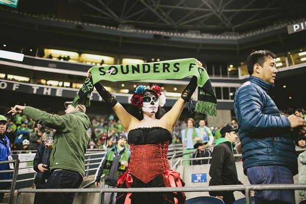 Sounders FC costume