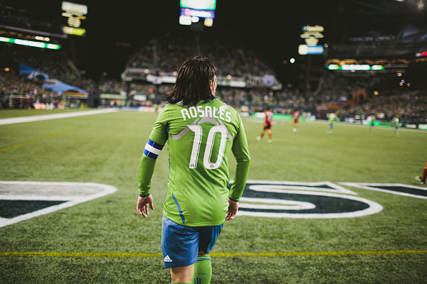 Rosales Sounders FC soccer