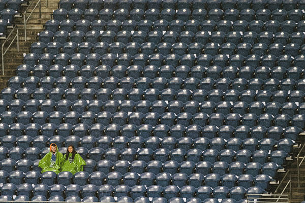 Seattle sounders FC in the rain