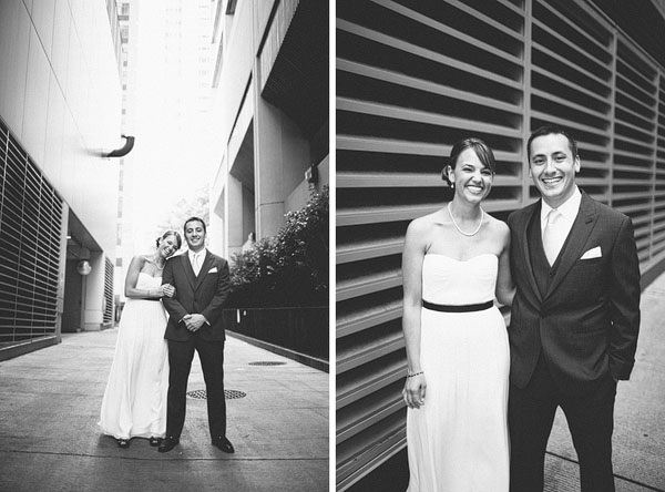 wedding pictures in alley