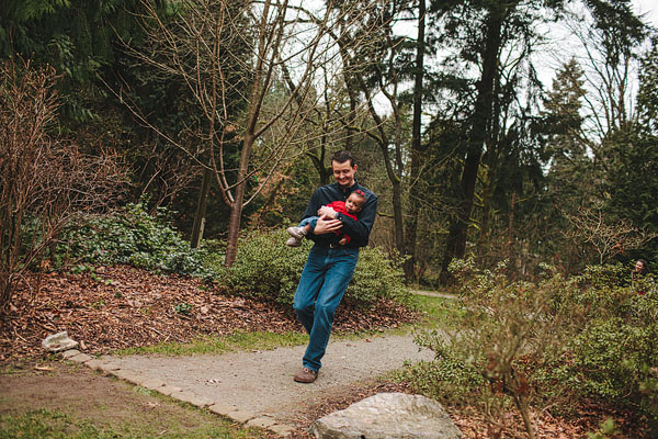 Seattle arboretum family photography