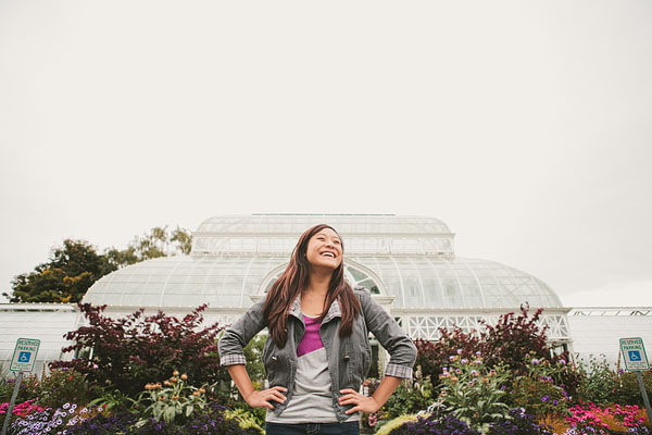 volunteer park Seattle senior pictures