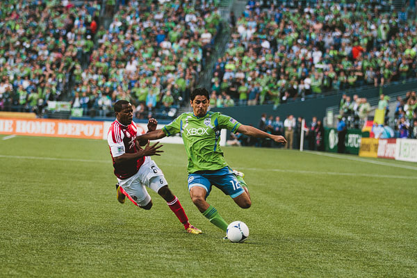Seattle sports photographer Sounders