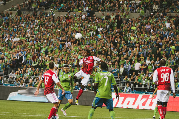 amazing sports photos Seattle Sounders