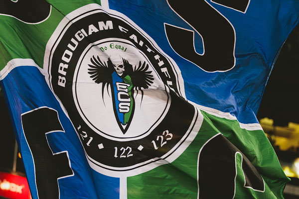 flag Seattle Sounders