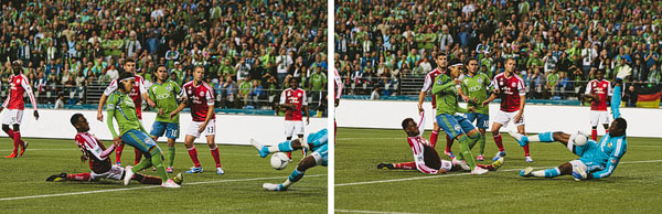 goal in Seattle