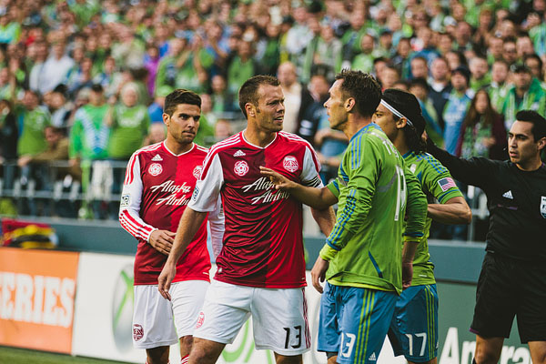 sounders timbers arguing