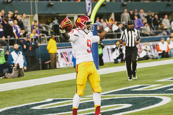 Marqise Lee touchdown celebration USC