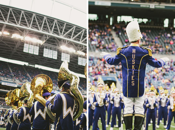 University of Washington marching band
