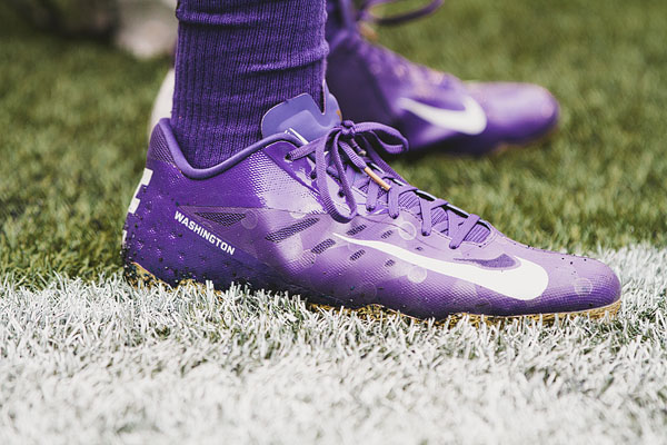 University of Washington football shoes