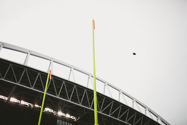 UW field goal at CenturyLink