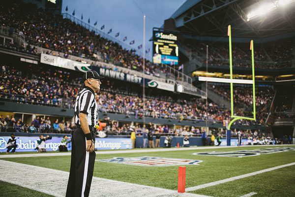 referee at UW USC game CenturyLink