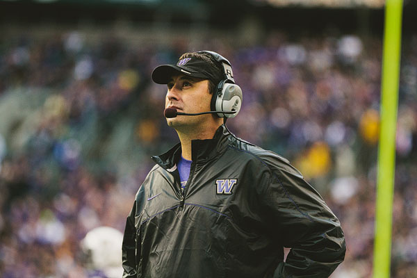 Steve Sarkisian UW football