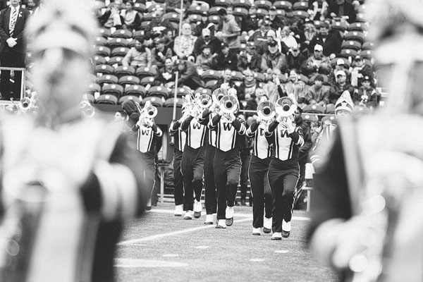 best UW marching band photos