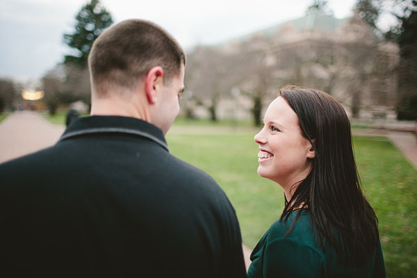 couple engagement photography in Seattle