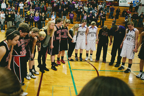 basketball prayer at end of game