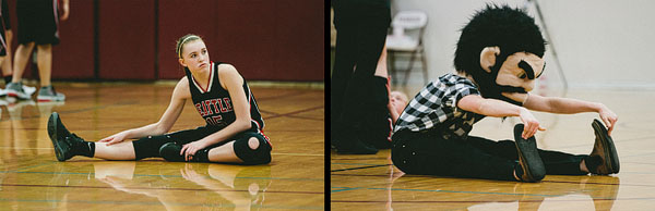 basketball stretching