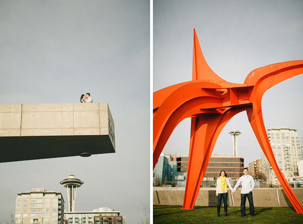 Engagement photography in Seattle