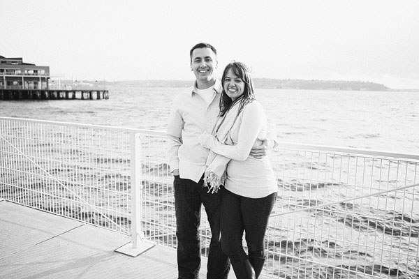 engagement photos in Seattle