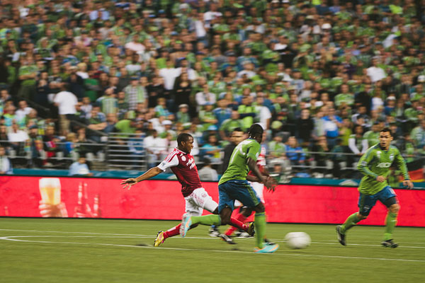 Seattle sounders Portland timbers