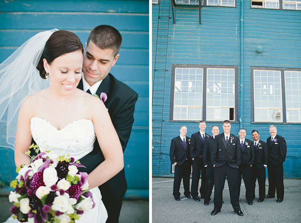 SoDo Park wedding in Seattle
