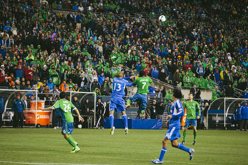 Eddie Johnson header Sounders