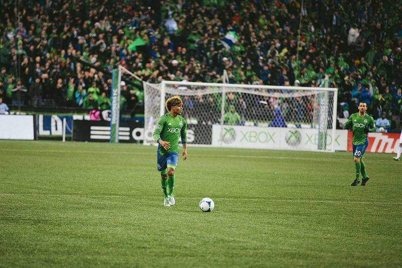 Yedlin hair Seattle Sounders