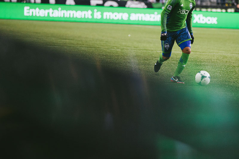 Sounders photography MLS