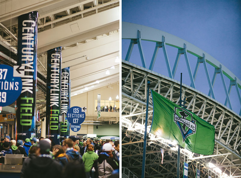 Sounders Seattle Century Link