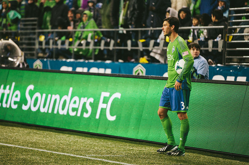 Brad Evans Seattle Sounders