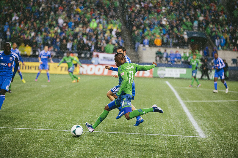 Zakuani Seattle Sounders