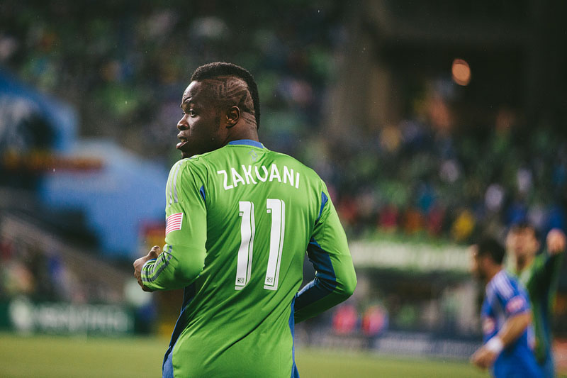 Zakuani hair Sounders