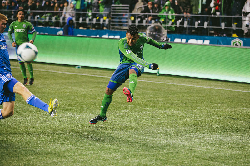 Mario Martinez Seattle Sounders