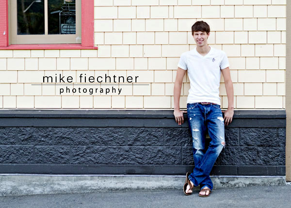 Seattle Senior portrait by senior photographer Mike Fiechtner Photography at Alki