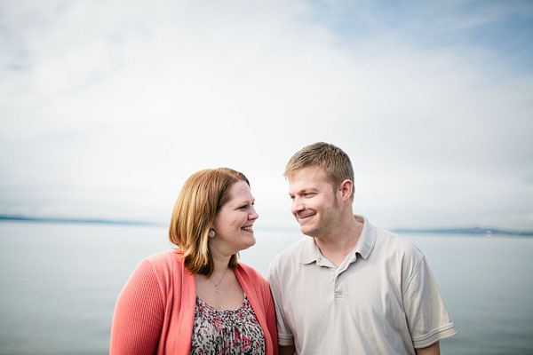 Alki engagement photography