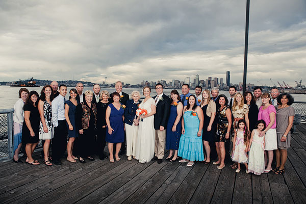 group wedding photography Seattle