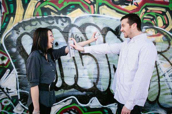 graffiti engagement background