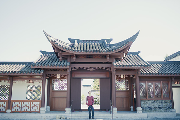 seattle senior portrait at chinese garden by mike fiechtner - Seattle Chinese Garden