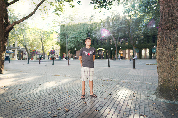 Seattle senior portrait photography by Mike Fiechtner