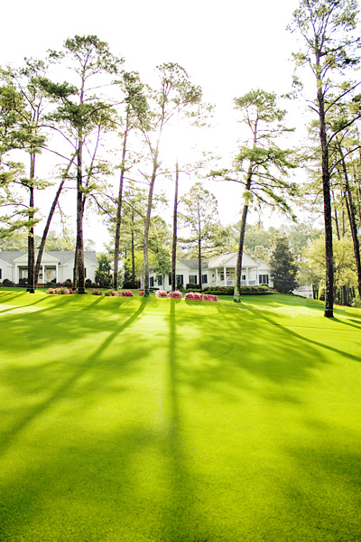 Augusta National tree shadows