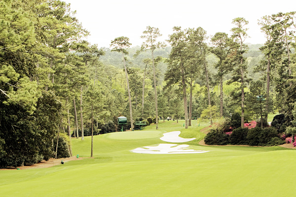 Masters 10th fairway