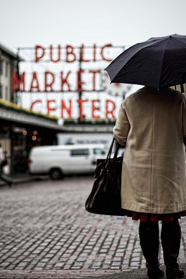 pike place market umbrella