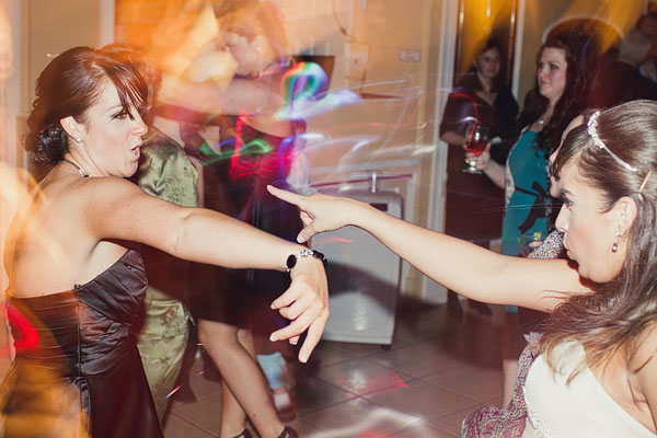 reception dance shots