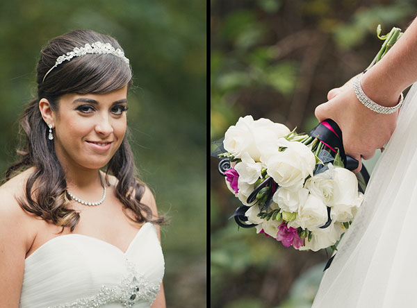 bride bouquet photographs
